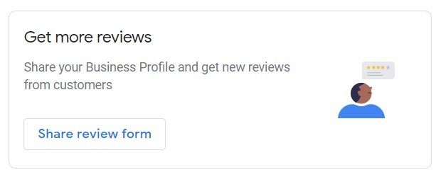 Google My Business account reviews